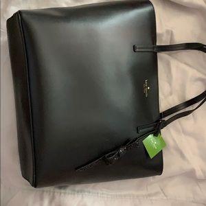 Kate Spade Karla Seton Drive Bag in black
